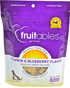 fruitables Pumpkin & Blueberry Flavor 7 oz Dog Treat