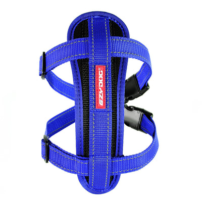 EzyDog chest Plate Harness for Dogs - Blue
