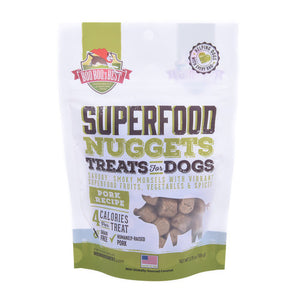 Boo Boo's SuperFood Nuggets Treats Pork Recipe 106g