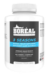 Boreal 3 Seasons Natural Health Supplement for Dogs 60 Capsules