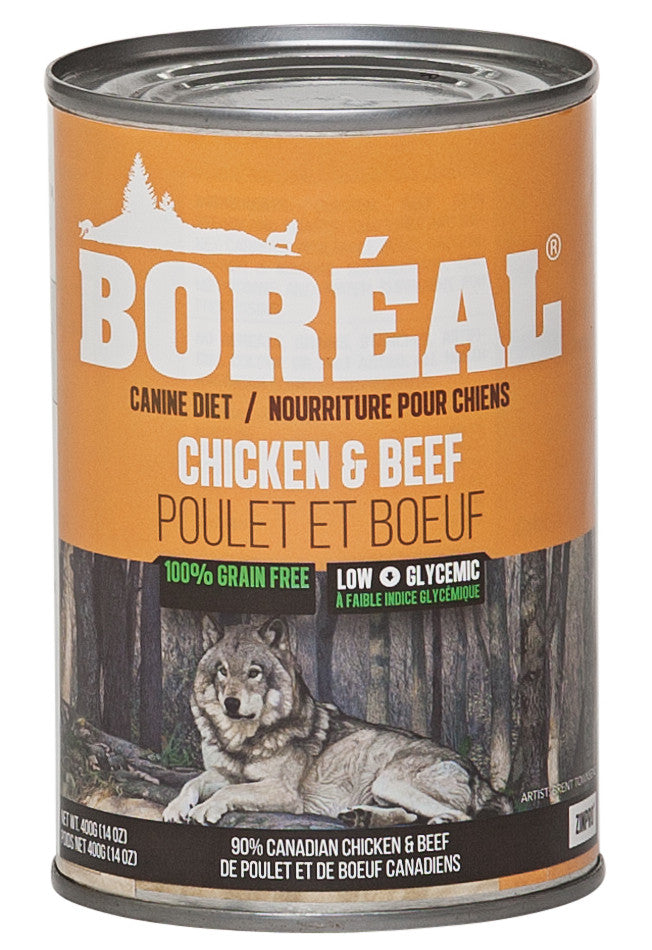 Boreal - Chicken & Beef Dog Food 24 oz