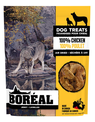 Boreal Jerky Dog Treats 100% Chicken