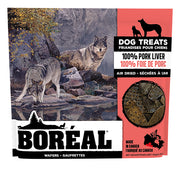 Boreal Dog Treats 100% Pork Liver Wafers