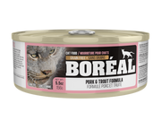 Boréal Pork & Trout Canned Cat Food 5.5 oz