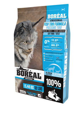 Boreal Fish Trio Cat Food