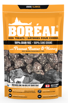Boreal Peanut Butter and Honey Dog Treats