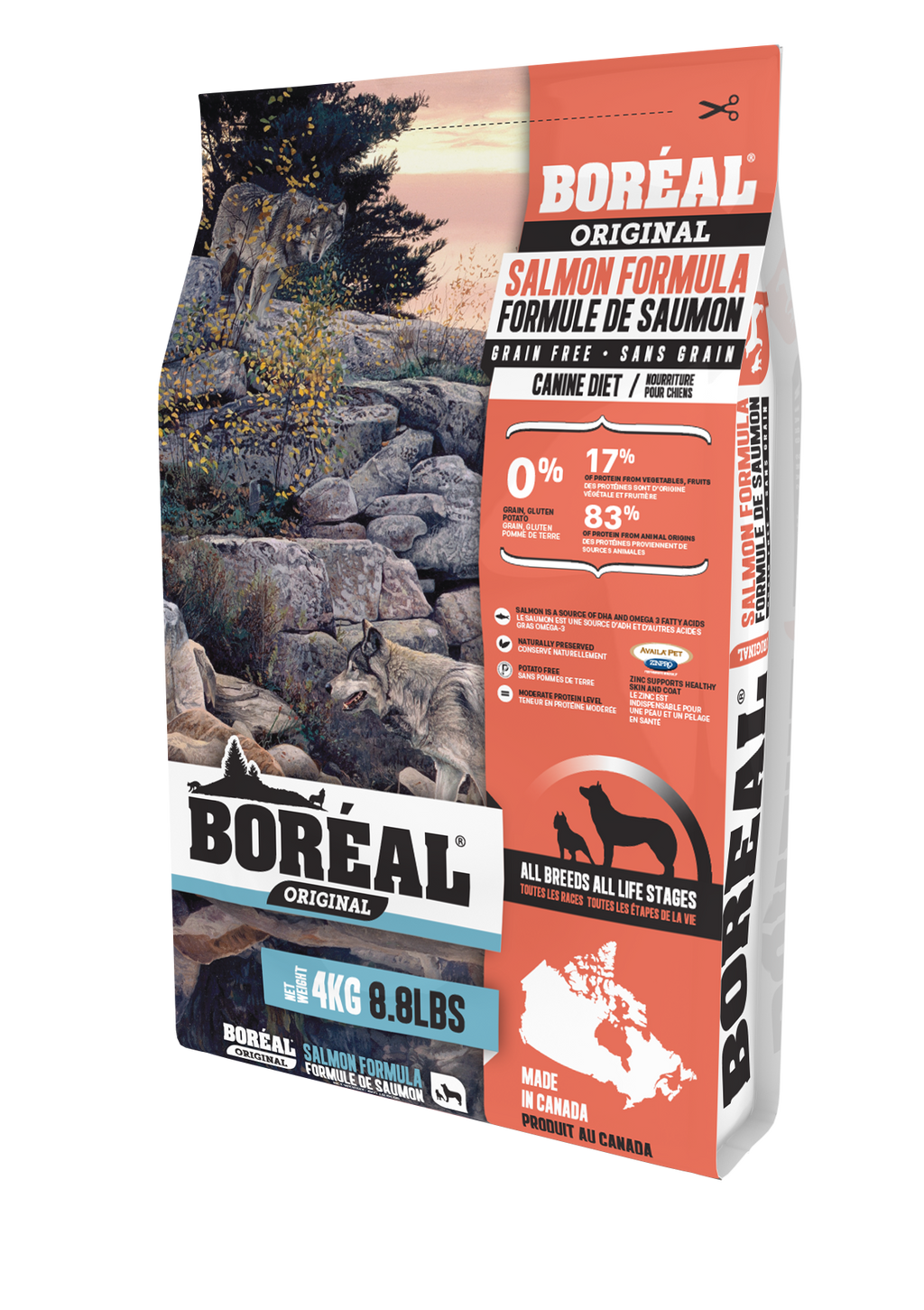Boreal Salmon Dog Food