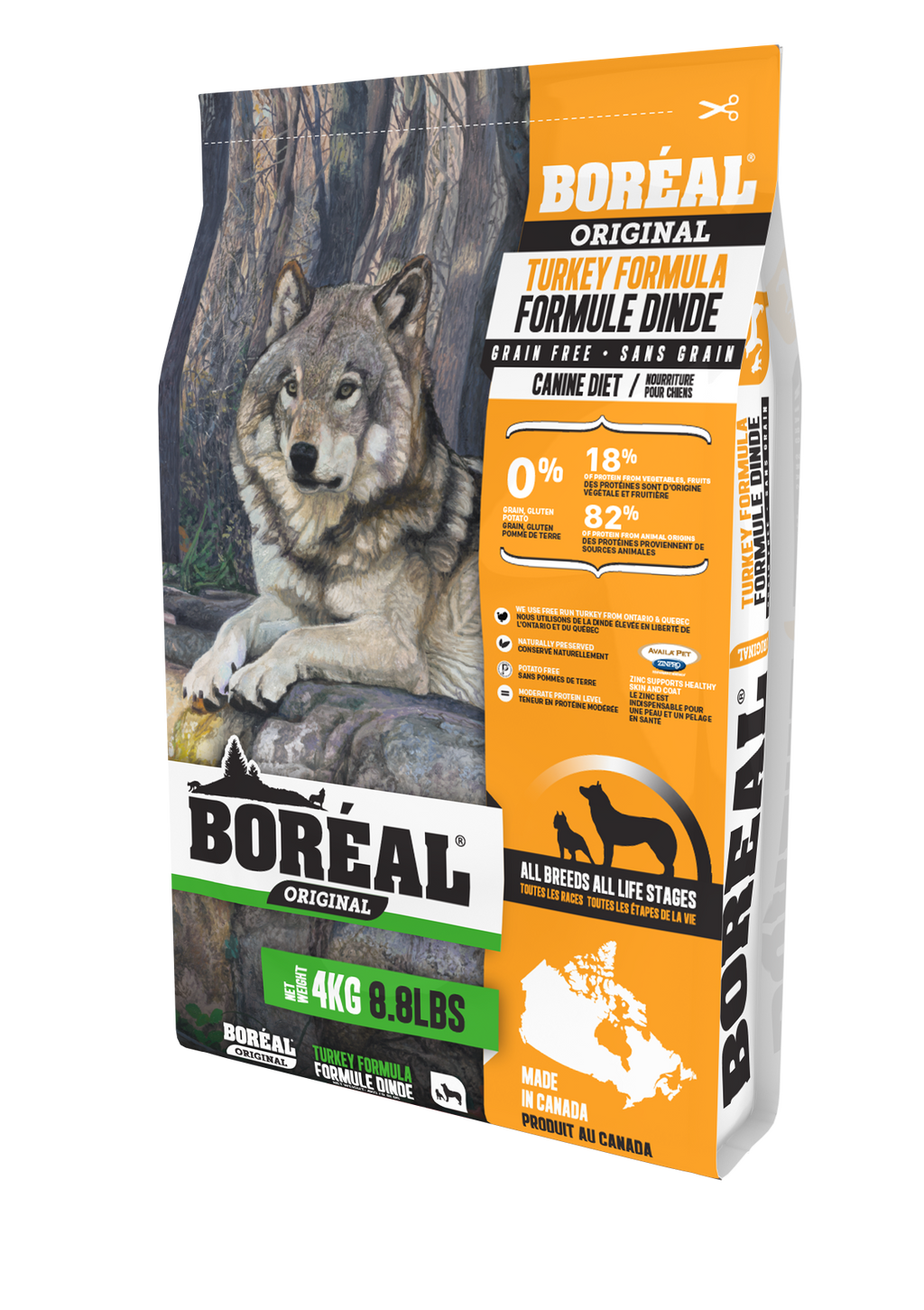 Boreal Turkey Dog Food