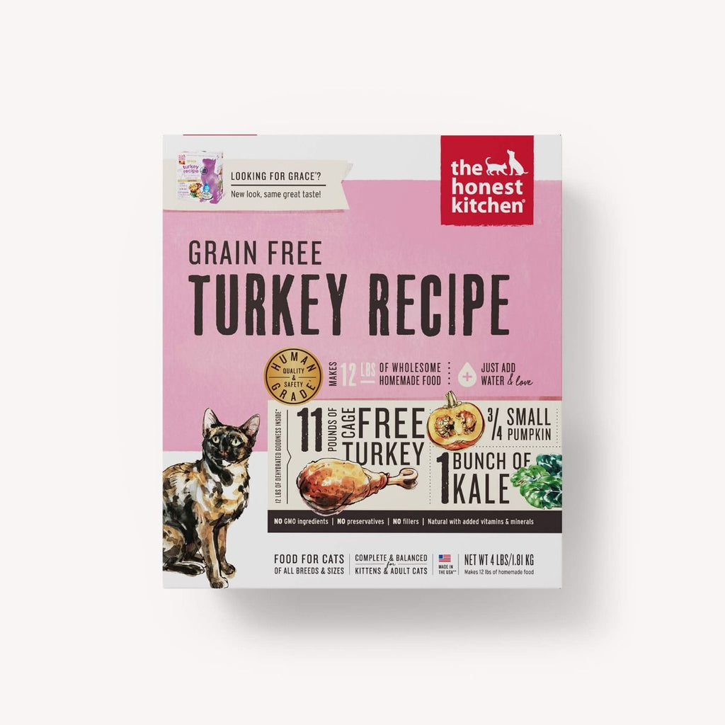 Honest Kitchen - Grain Free Turkey Recipe for Cats - (Grace)