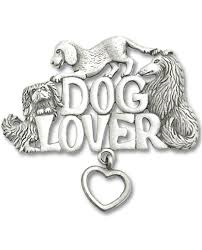 Chelsea Pewter - Dog Lover - Brooch