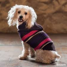 Outdoor Dog Sweater-Brown