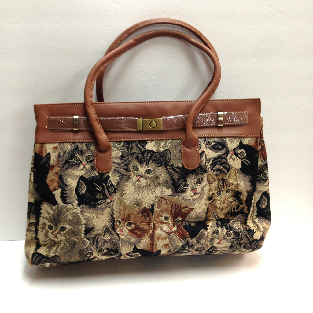 NPF Cat bag Buckled Bag