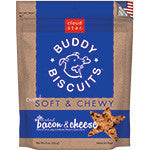 Buddy Biscuits Soft & Chewy Bacon and Cheese