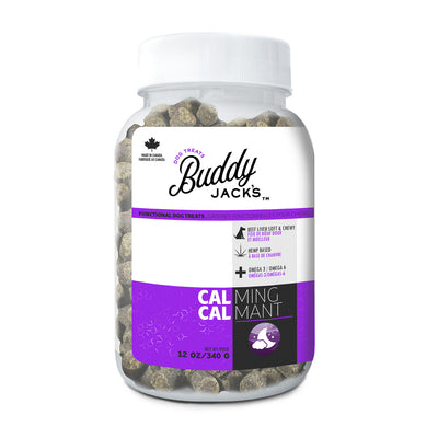 Buddy Jack's Functional Dog Treats - Calming - 12 oz