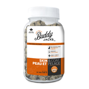 Buddy Jack's Functional Dog Treats - Skin and Coat - 12 oz
