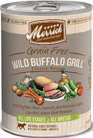 Mrricks Wild Buffalo Grill Canned Dog Food
