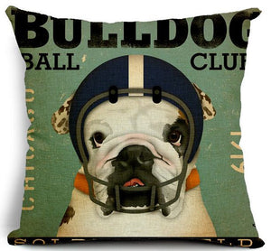 NPF - Pillow Cover - Bulldog