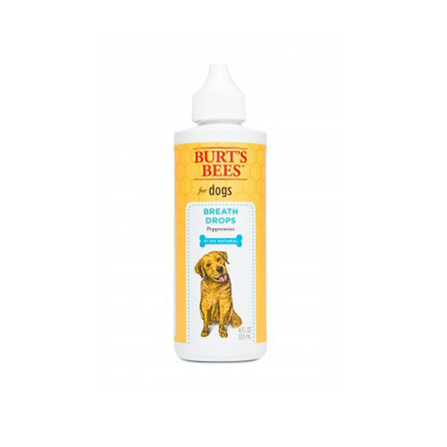 Burt's Bees Breath Drops for Dogs - Peppermint Flavor