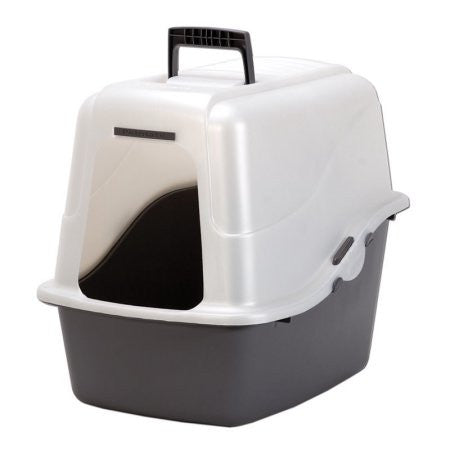 Petmate - Deluxe Hooded Litter Pan Set