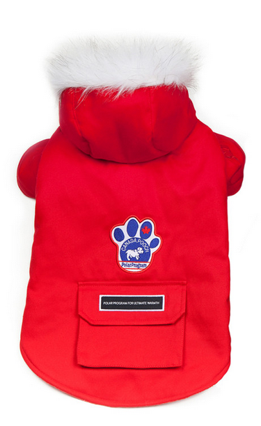 Canada Pooch Winter Wilderness Jacket - Red
