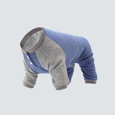 Canada Pooch - Frosty Fleece Onesie - Blue NEW