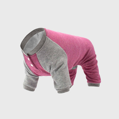 Canada Pooch - Frosty Fleece Onesie - Raspberry NEW
