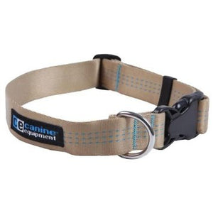 Canine Equipment Utility Collar Tan
