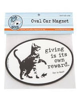 Car Magnet - Cat - Giving Is Its Own Reward