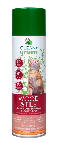 Clean and Green Wood and tile cleaner for cats