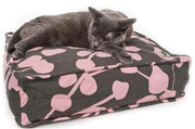 MollyMeow - Cat Bed Duvet Pink & Grey