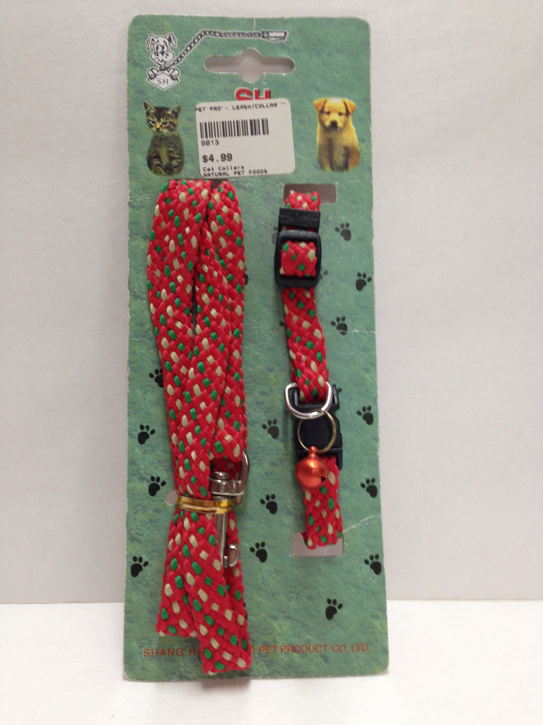 Pet Pro - Cat Leash & Collar Set