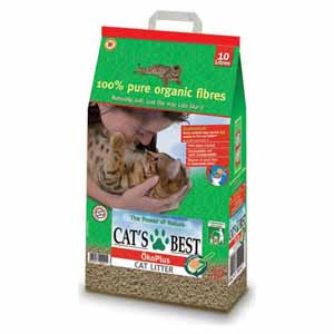 Cat's Best Öko Plus - Cat Litter 10 litres