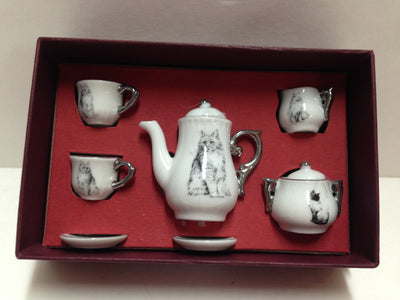 Mini Tea Set - Cats