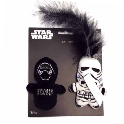 Silver Paw Star Wars Kylo-Ren & Storm Trooper - 2 Pack