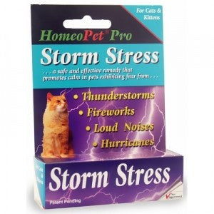 HomeoPet - Storm Stress - For Cats & Kittens - SALE