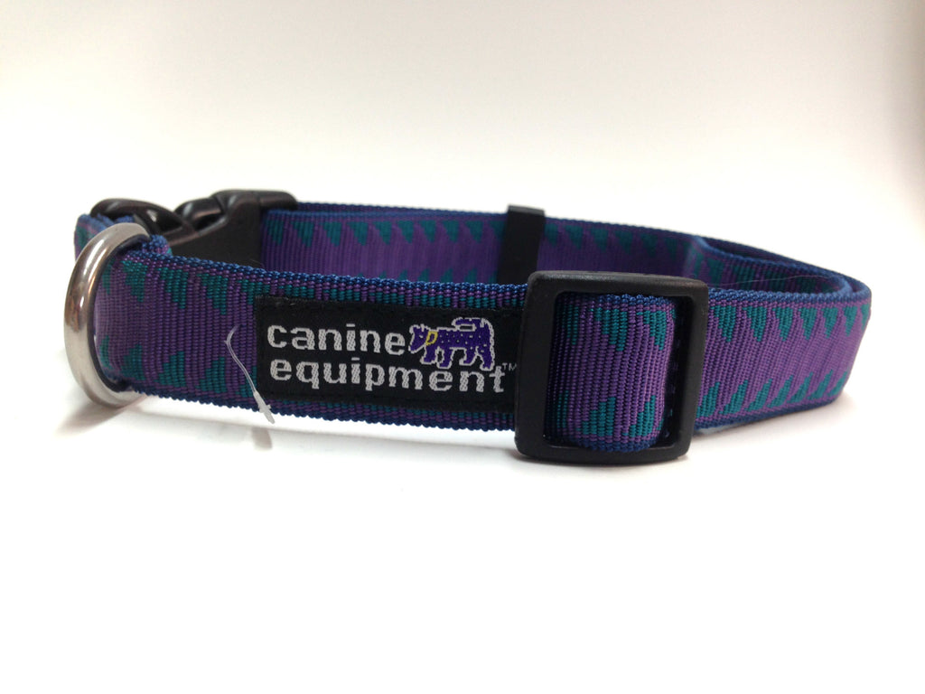 Canine Equipment Utility Clip Collar Blue Jag
