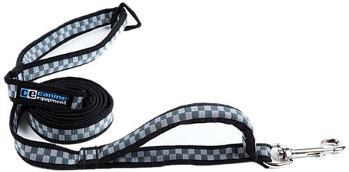 Canine Equipment Leash - Checkerboard