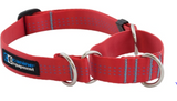 Canine Equipment Martingale Tec Collar Red