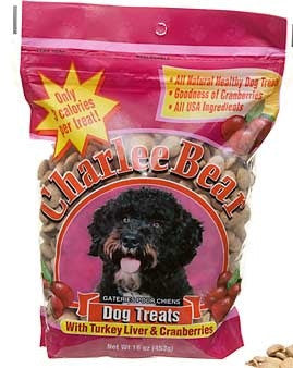 Charlee Bear - Turkey Liver & Cranberries - Dog Treats 16 oz