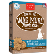 Wag More Bark Less Grain Free Dog Treats - Smoothed Aged Cheddar