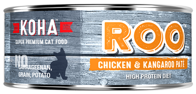 KOHA Roo Chicken & Kangaroo Pate Cat Food -5.5oz