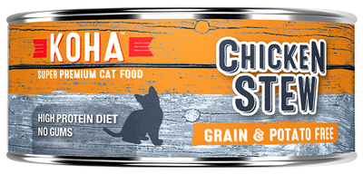 KOHA Chicken Stew Cat Food -5.5oz