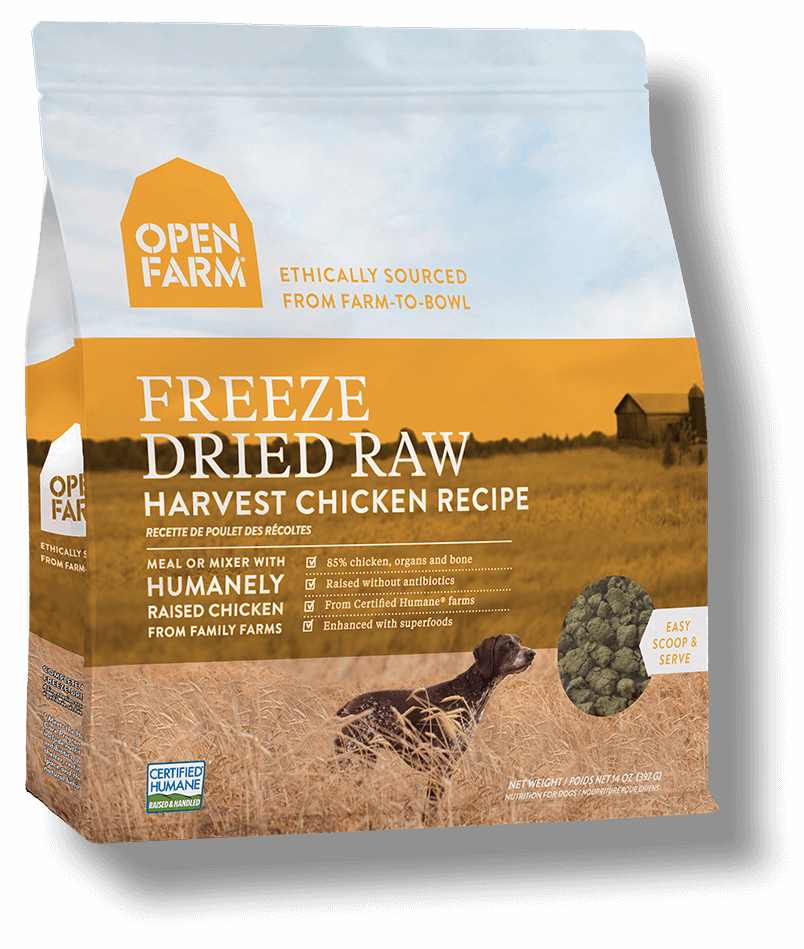Open Farm - Freeze Dried Raw Dog Food - Harvest Chicken
