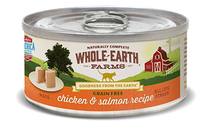 Whole Earth Farms - Chicken and Salmon Recipe