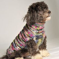 Chilly Dog Cable Knit Purple