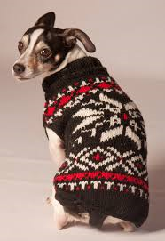 Chilly Dog Nordic Snowflake Black