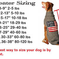 Chilly Dog sizing chart
