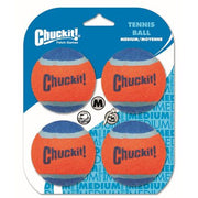 Chuckit! Tennis Ball 4 Pack Medium