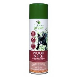 Clean and Green wood and tile cleaner for dogs