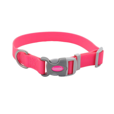 Coastal Pro Adjustable Waterproof dog Collar (pink)